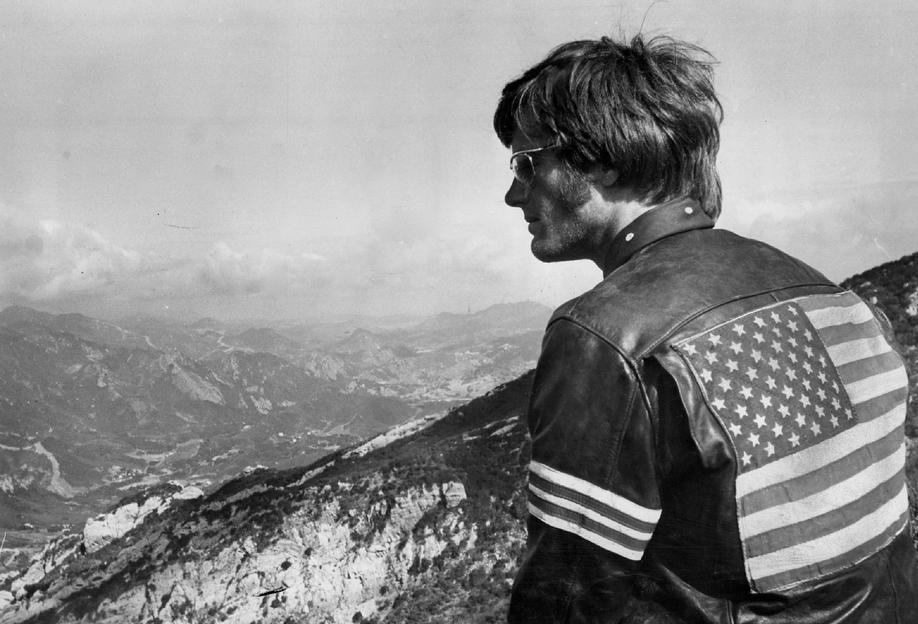 Easy Rider, Peter Fonda Aluminium Print