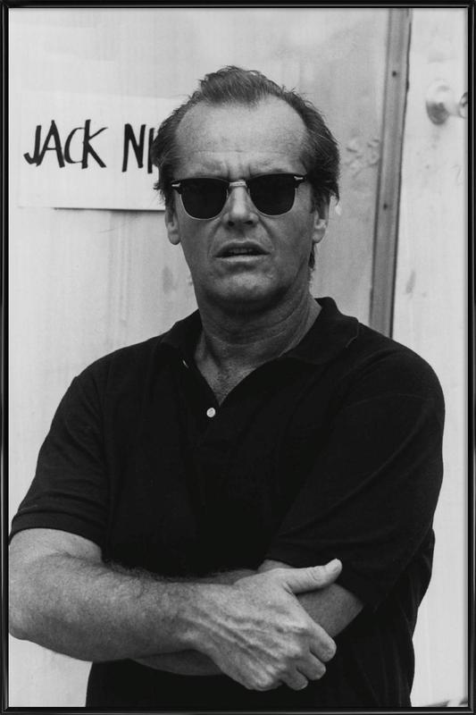 Jack Nicholson in Sunglasses affiche encadrée
