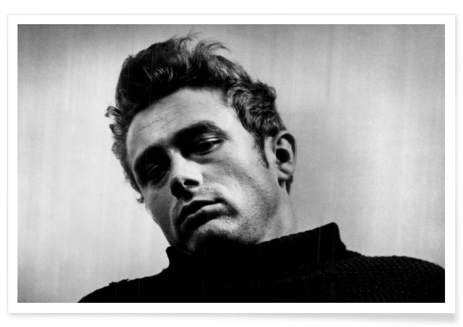 James Dean, 1955 Vintage Photograph Poster