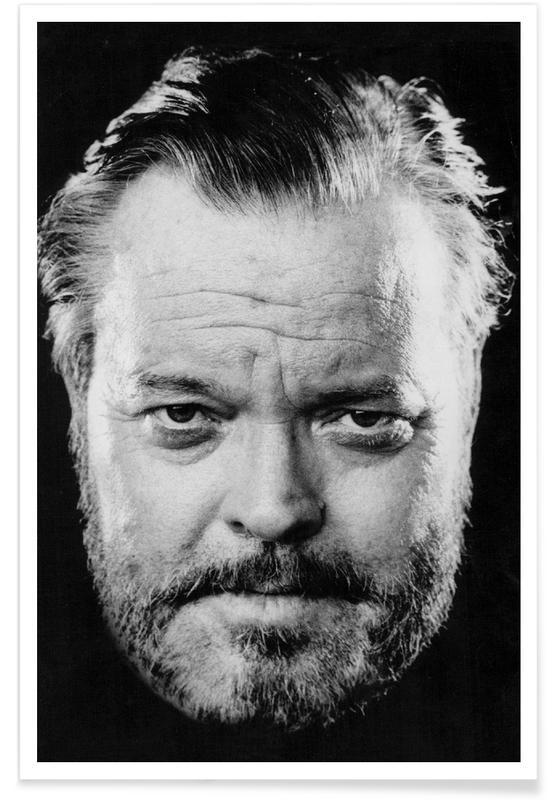 Orson Welles Vintage Photograph Poster