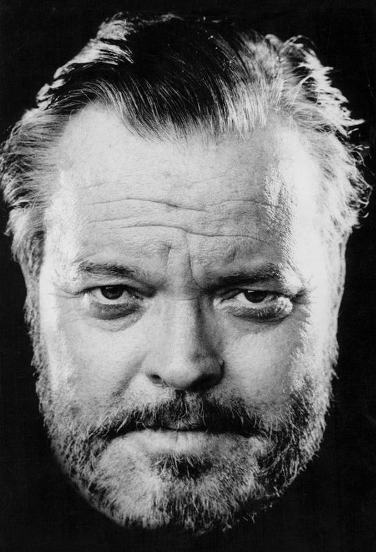 Orson Welles tableau en verre