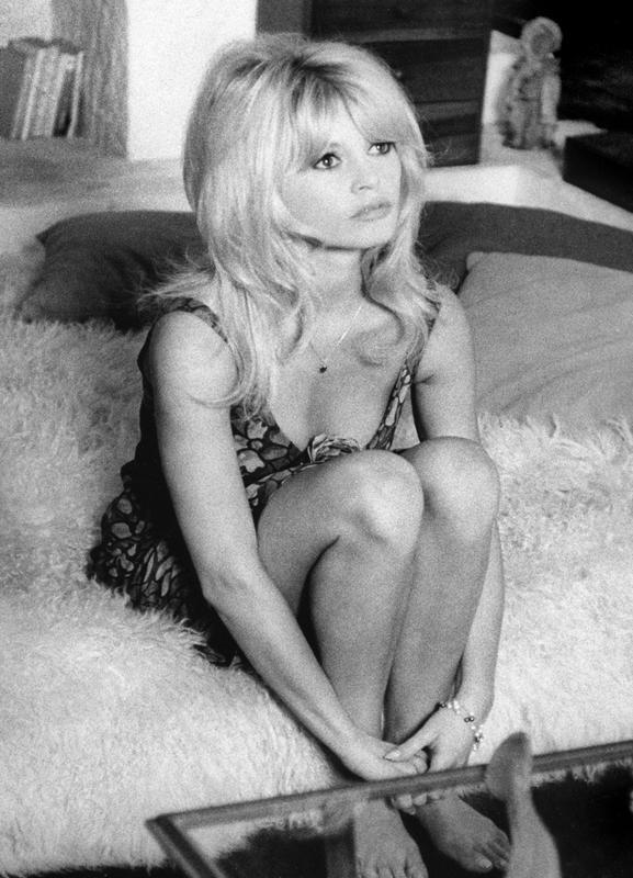Brigitte Bardot, 'Dear Brigitte' Canvas Print