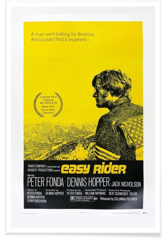 'Easy Rider'-Retro-Film -Poster