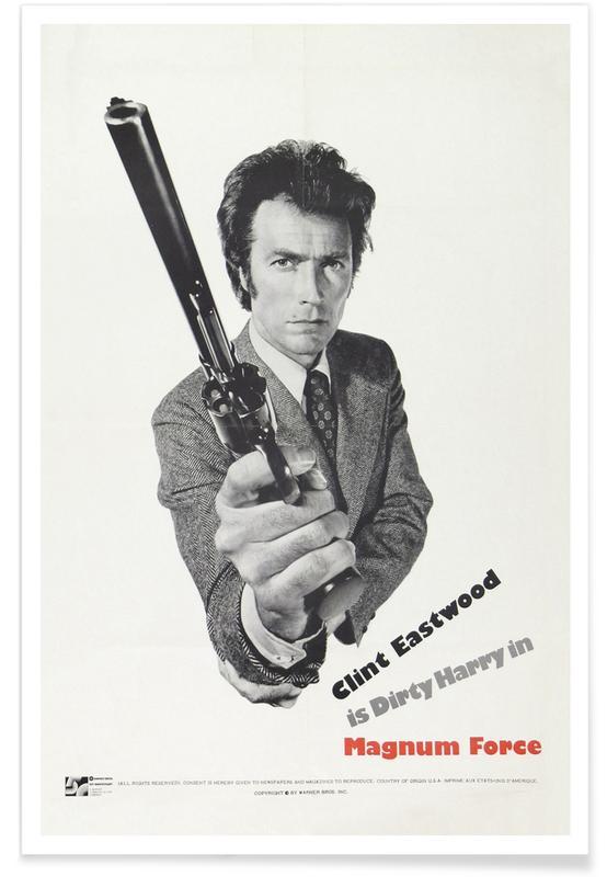 'Dirty Harry II'-Retro-Film -Poster