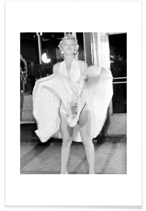 Marilyn Monroe, 1954 Seven Year Itch -Poster