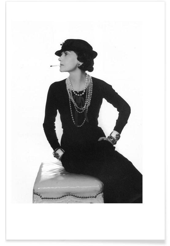 Coco Chanel, 1972-Vintage-Fotografie -Poster