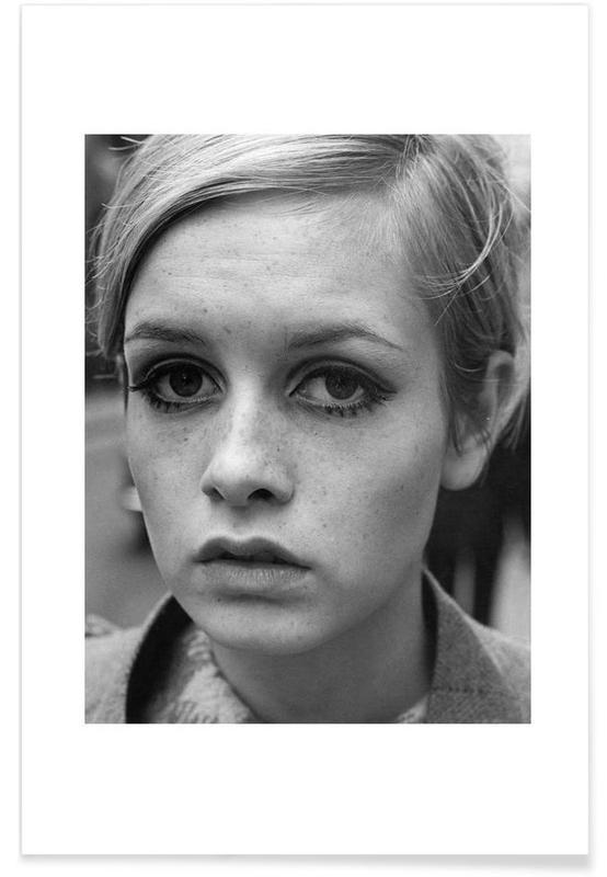 Twiggy, 1966-Vintage-Fotografie -Poster