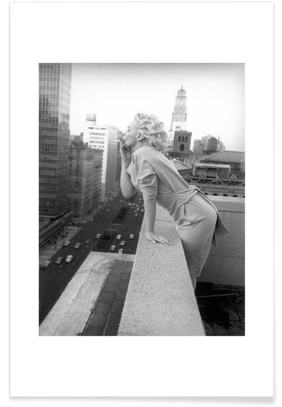 Marilyn Monroe in New York, 1955 Photograph Poster