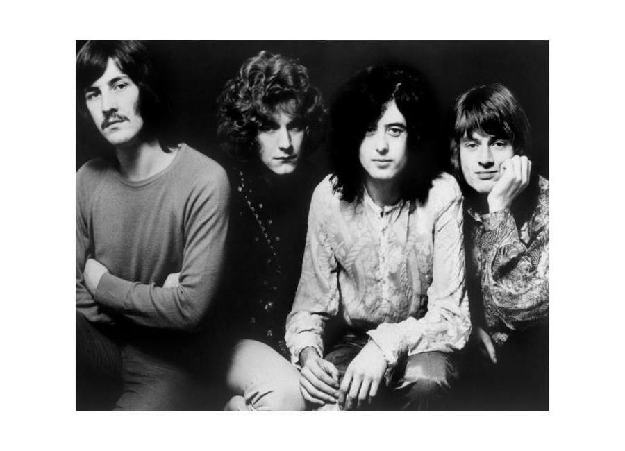 Led Zeppelin -Leinwandbild