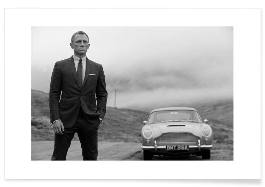 Foto van Daniel Craig als James Bond poster