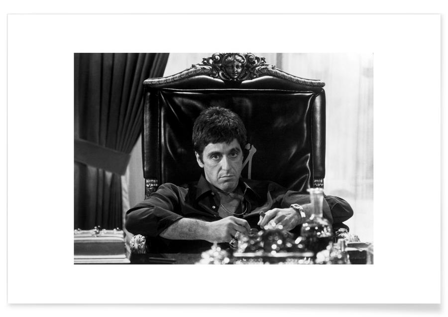 Al Pacino in Scarface Photograph Poster