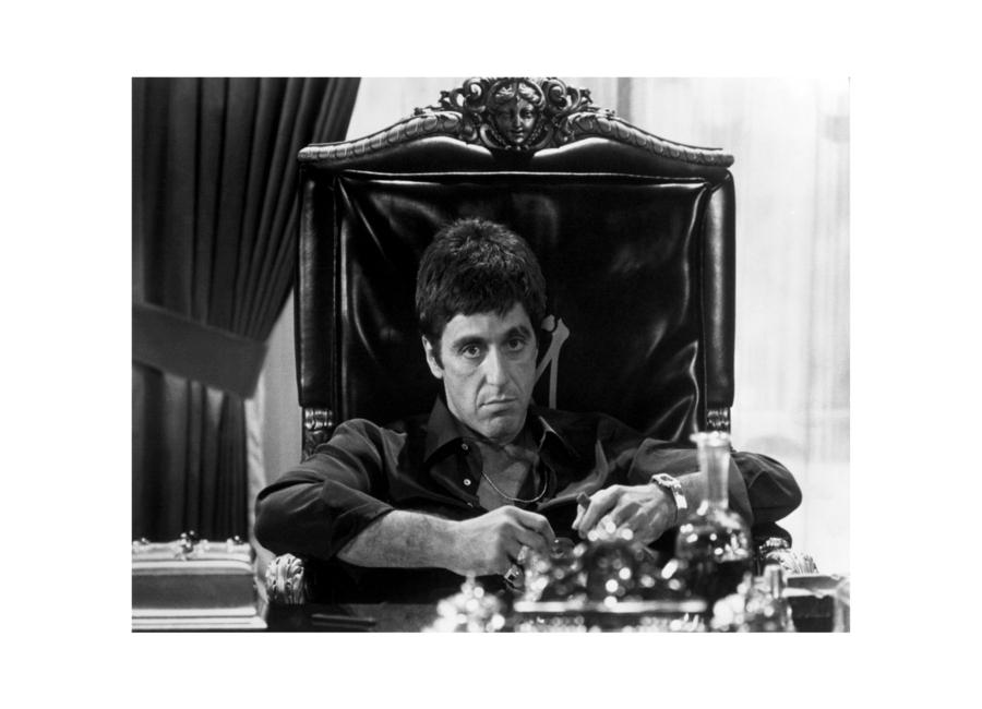 Al Pacino in Scarface toile