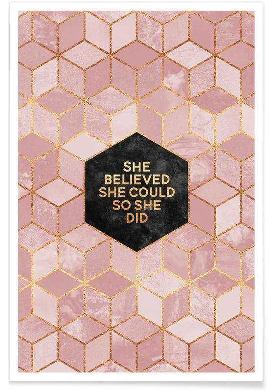 She Believed She Could -Poster