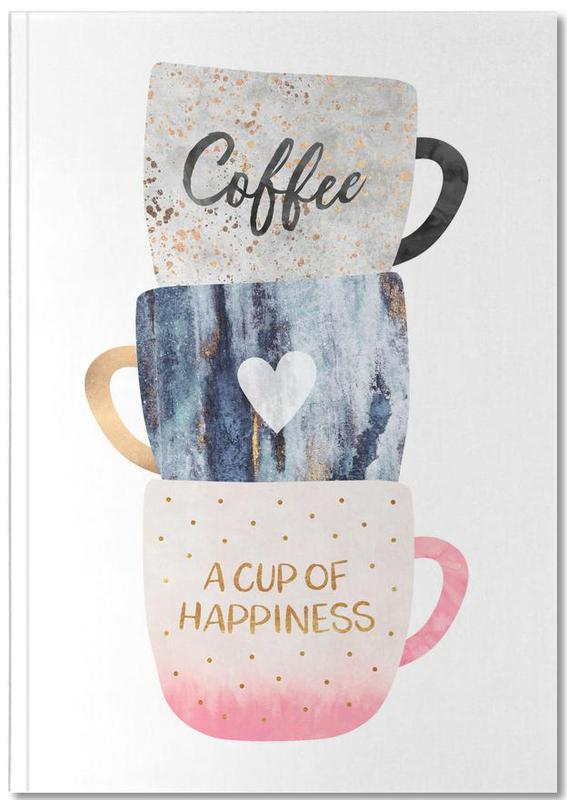 A Cup of Happiness Notebook