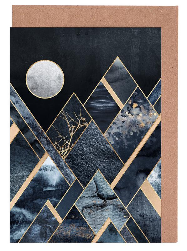 Stormy Mountains cartes de vœux