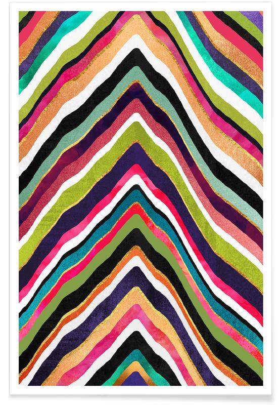 Color Slice -Poster