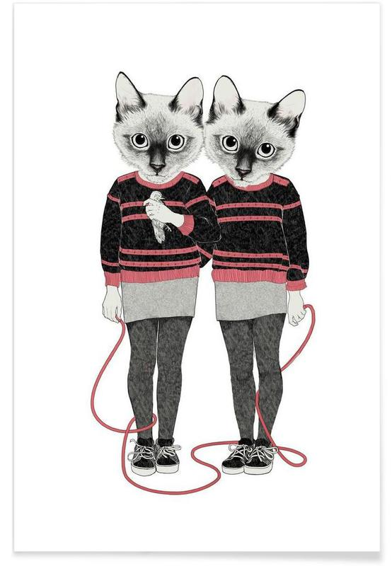 Siames Twins Poster
