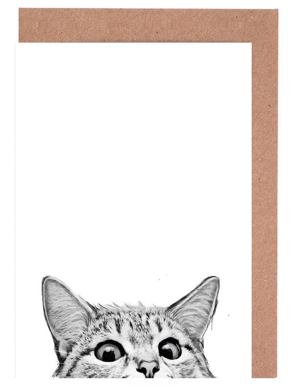 Cat Greeting Card Set