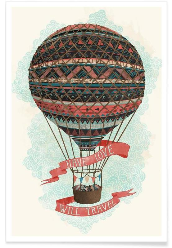 Have love, will travel affiche