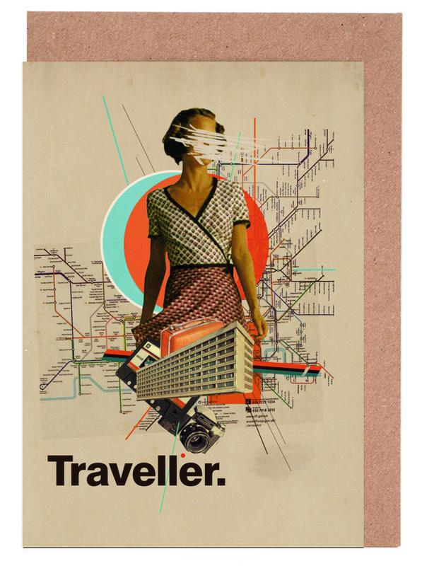 Traveller Greeting Card Set