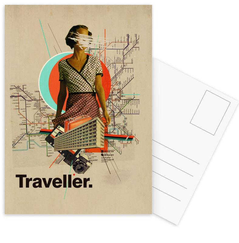Traveller Postcard Set