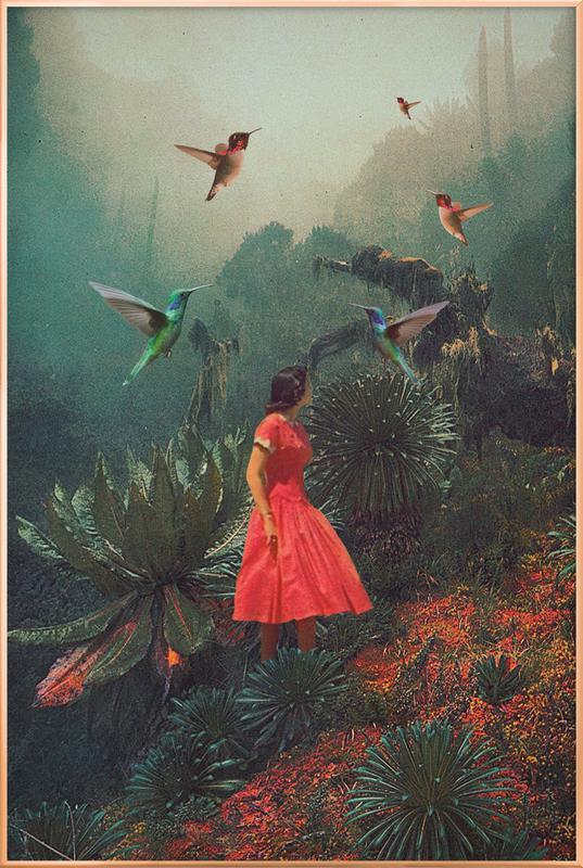 20 Seconds Before the Rain -Poster im Alurahmen