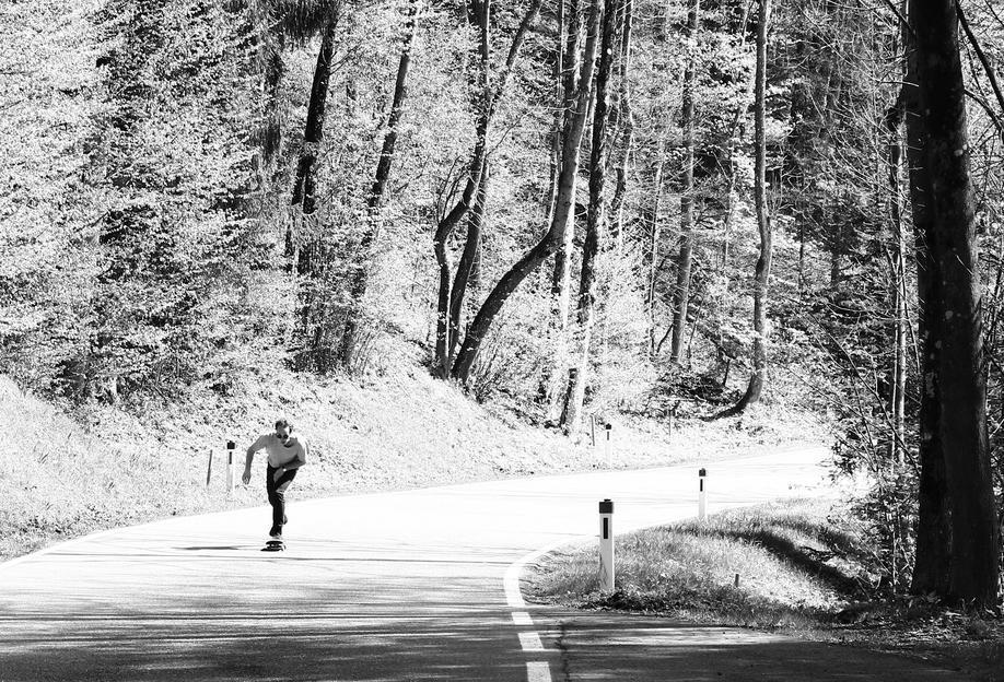 Downhill -Alubild