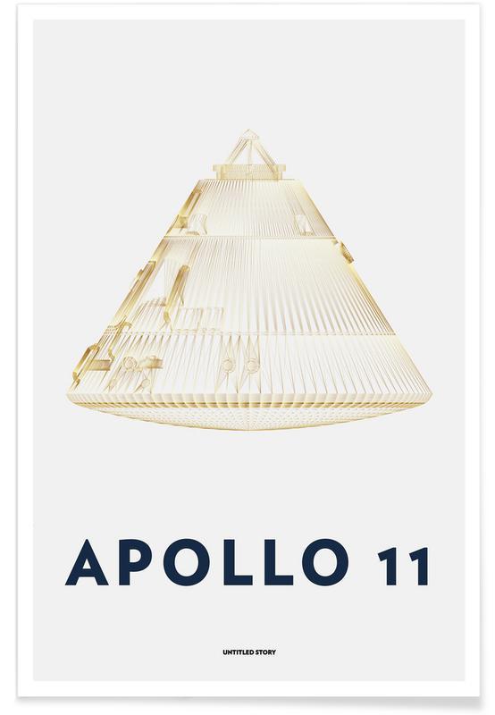 Apollo 11  Landing Module 6 -Poster
