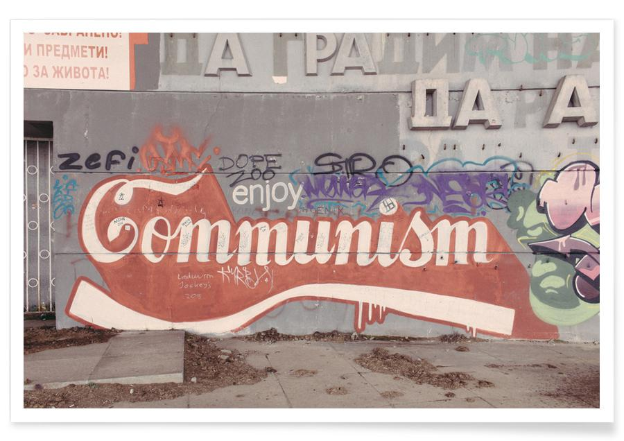 Enjoy Communism Poster