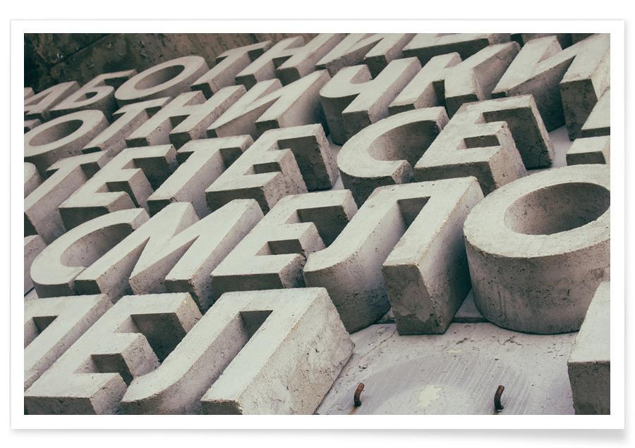 Alphabet -Poster
