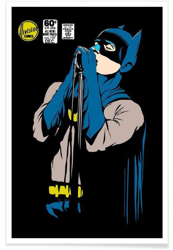 Post-Punk Dark Knight - Shadowplay -Poster