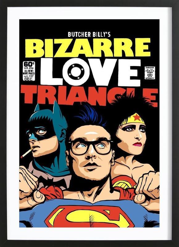 Bizarre Love Triangle ingelijste print