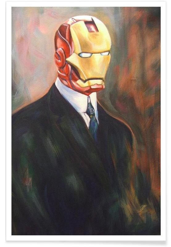 Iron Monsieur Poster