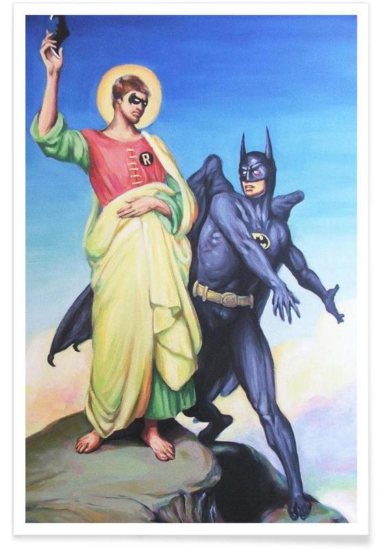 Temptation Of Robin Poster