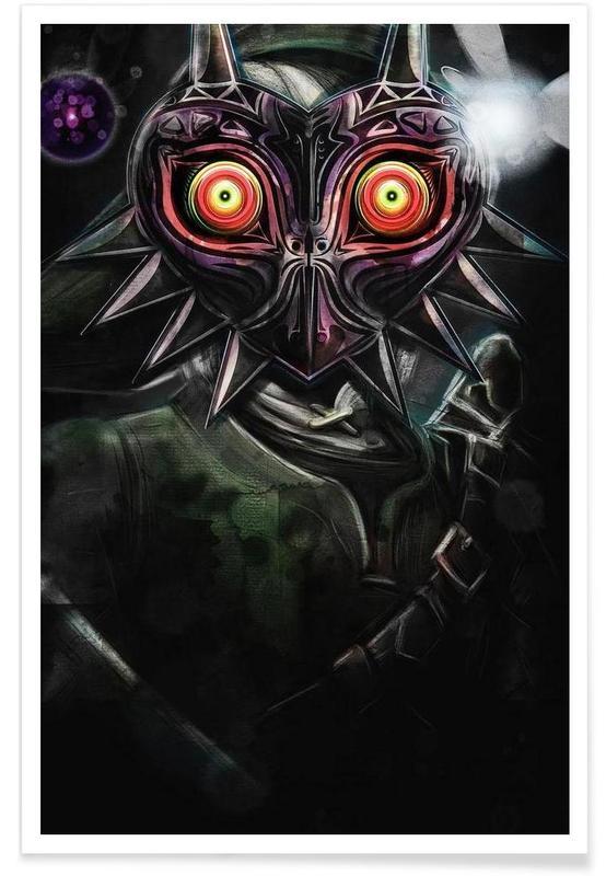 Majora's Mask Link Poster