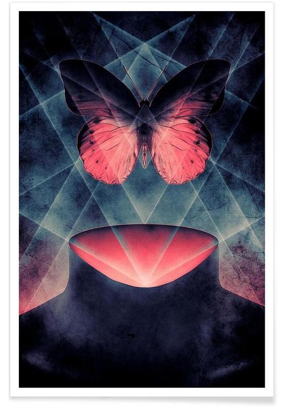 Butterfly Beautiful Symmetry poster