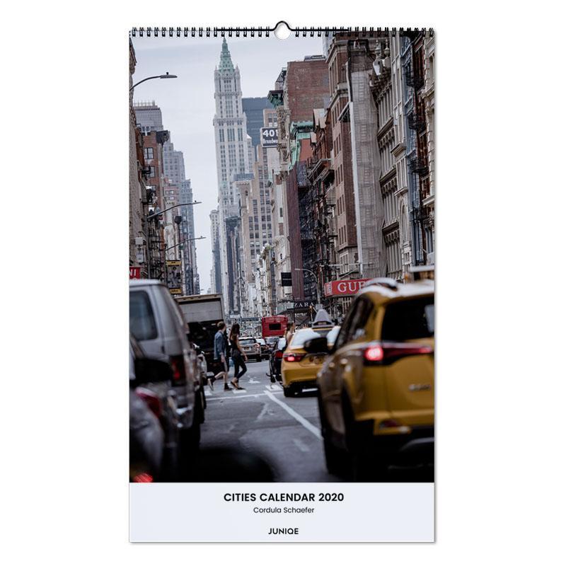 Cities Calendar 2020 - Cordula Schaefer -Wandkalender