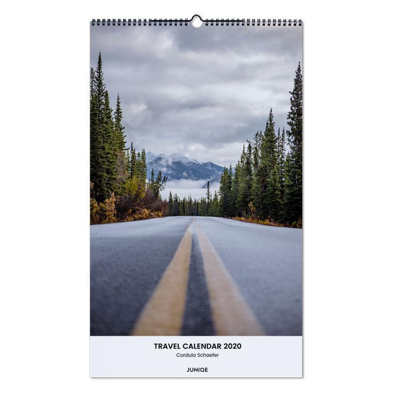 Travel Calendar 2020 - Cordula Schaefer -Wandkalender