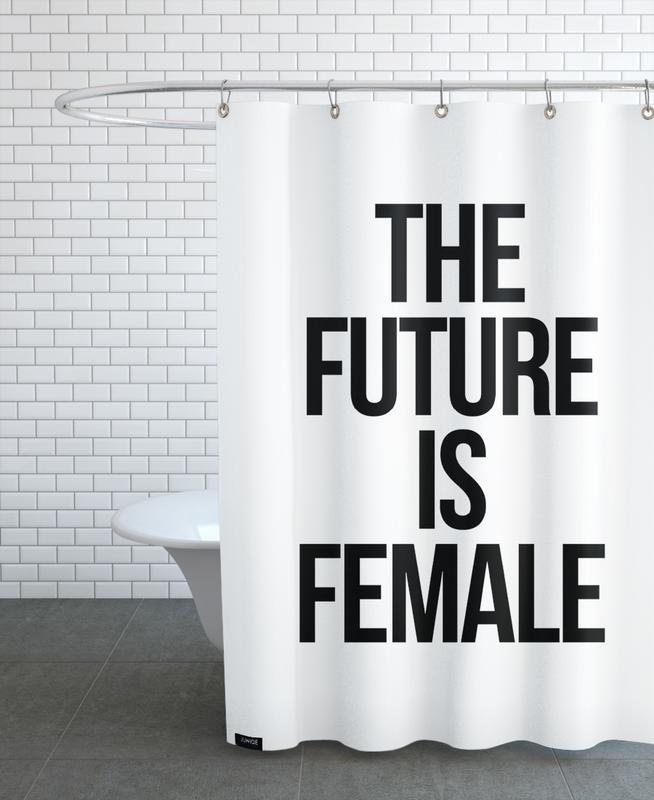 Female -Duschvorhang
