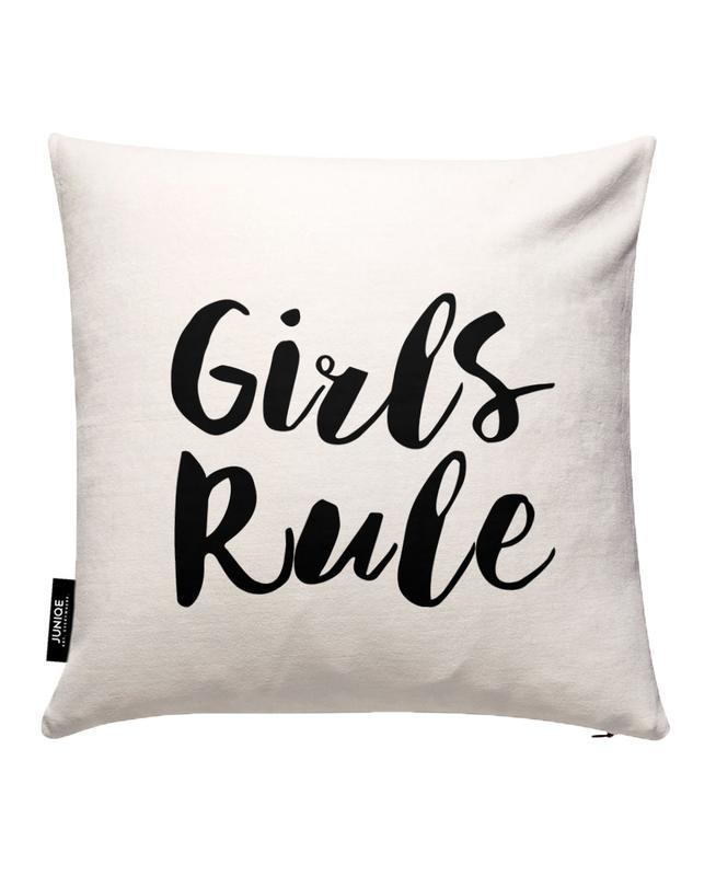 Girls Rule Cushion Cover