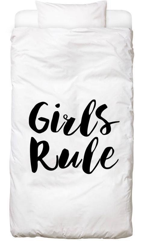 Girls Rule Kids' Bedding