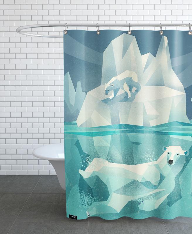 Polar Bear rideau de douche