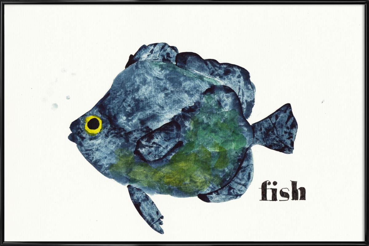 Fish Framed Poster