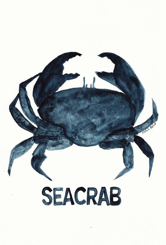 Seacrab Impression sur alu-Dibond