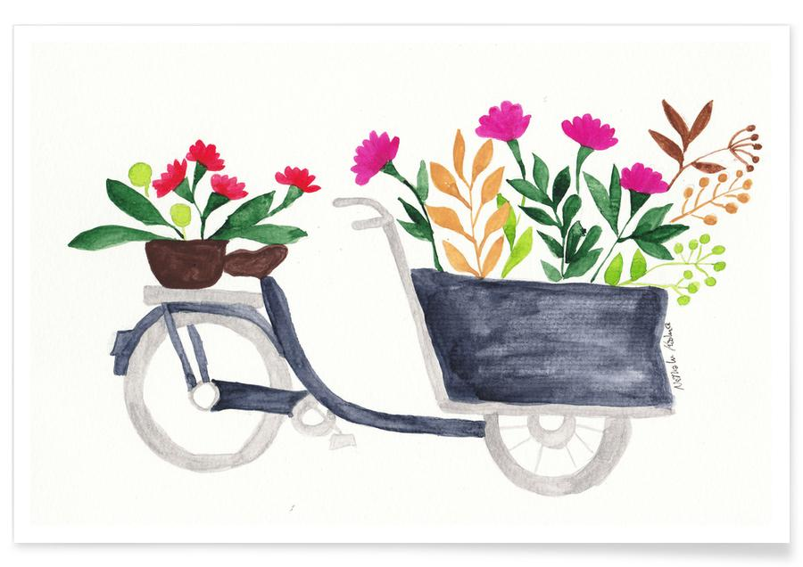 Flowers Delivery Poster