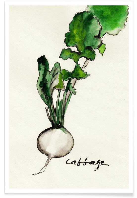 Cabbage -Poster