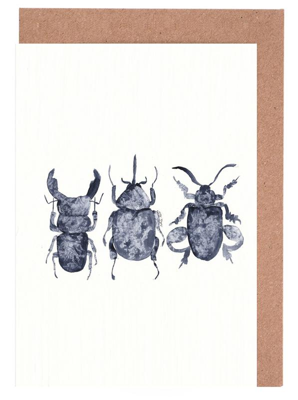 The Beetle Show Greeting Card Set