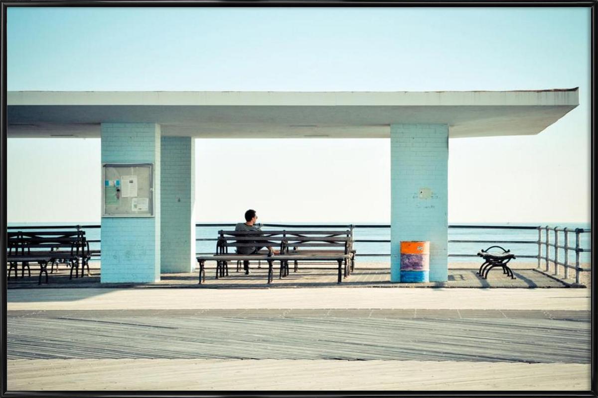 Coney Island  affiche encadrée