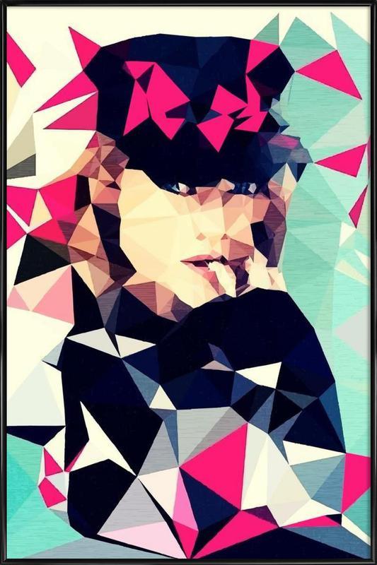 Multicolor Framed Poster