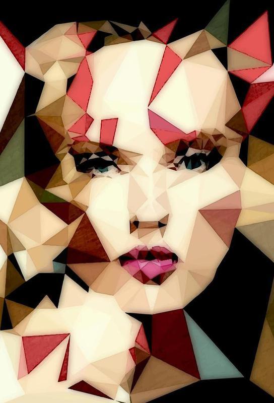 Bohemian Girl acrylglas print
